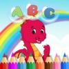Painting ABC & Dinosaur Dragon