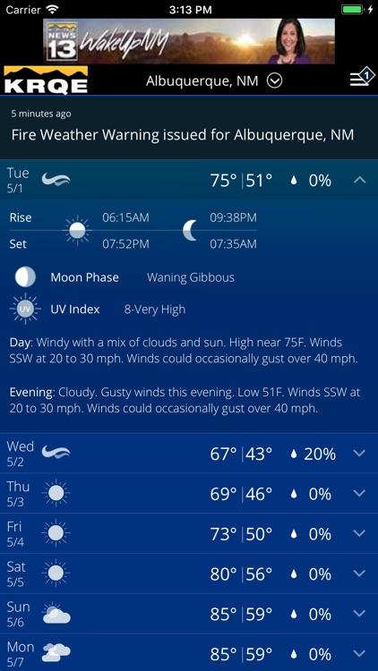 KRQE Weather - Albuquerque