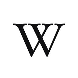 Ícone do app Wikipédia