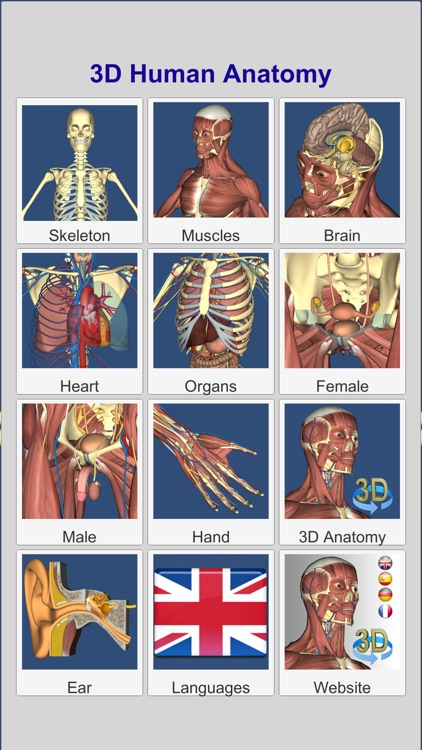 3D Anatomy Learning screenshot-1