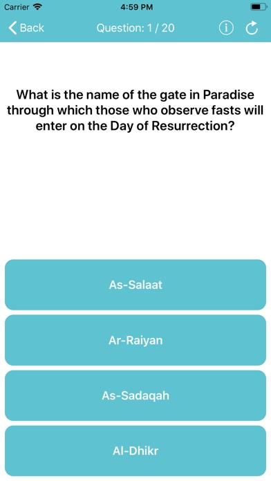 Hadith Quiz app image