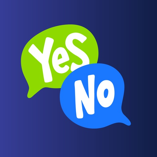 Yes No Stickers & Reverse