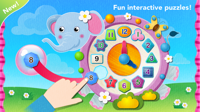 Toddler puzzles games for kids screenshot 1