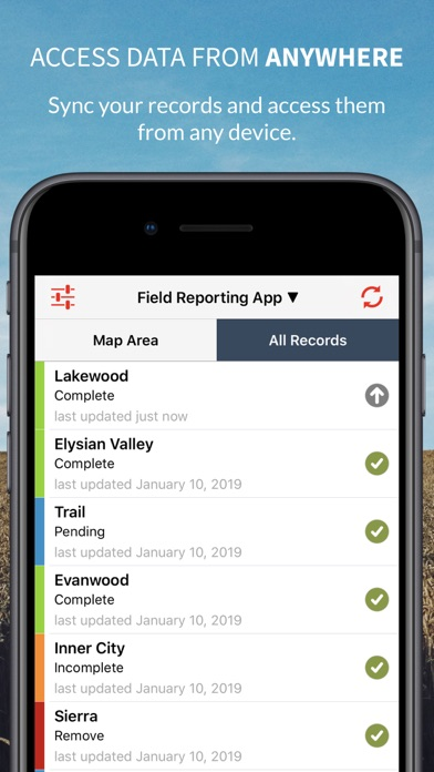 Fulcrum Mobile Data Collector screenshot two