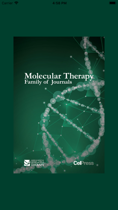 Molecular Therapy Journals screenshot 1