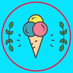 Ice Cream emoji & stickers