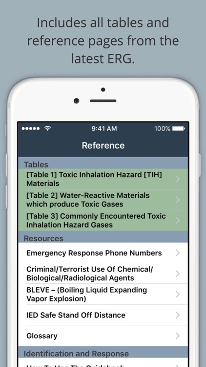 HazMat Reference screenshot-3
