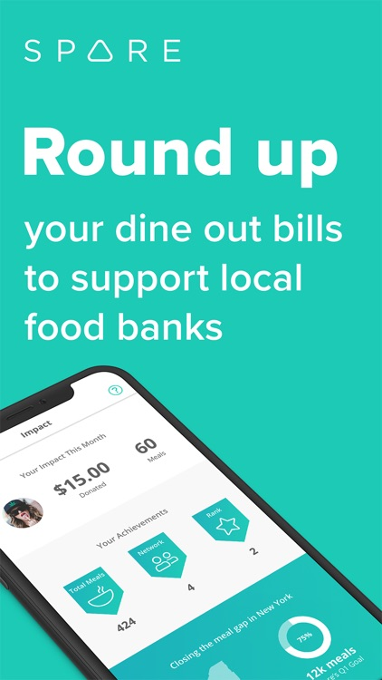 SPARE - Round up for hunger