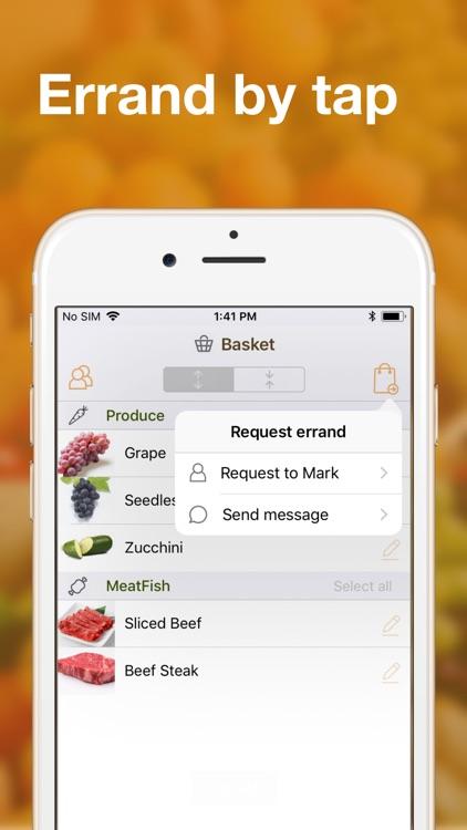 Shared grocery lists plan app screenshot-4