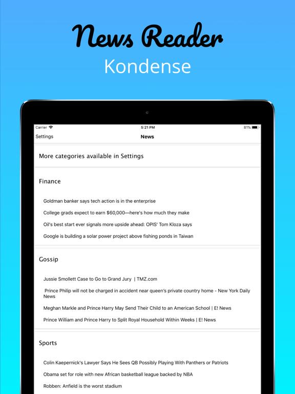 Kondense screenshot 6