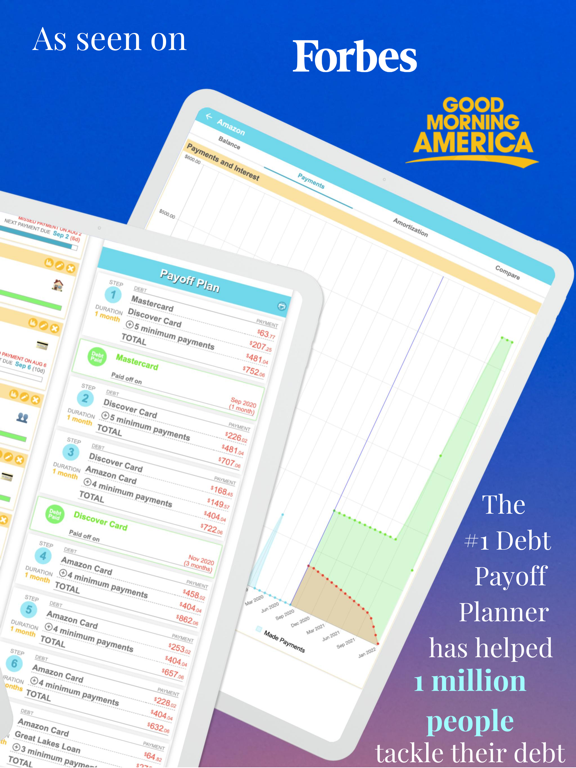 Debt Payoff Planner and Calculator screenshot