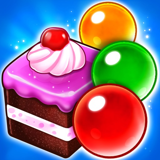 Pastry Pop Blast: Bubble Shoot