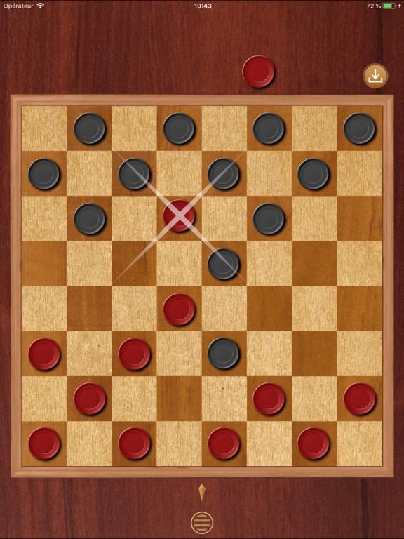 Игра Шашки № 1