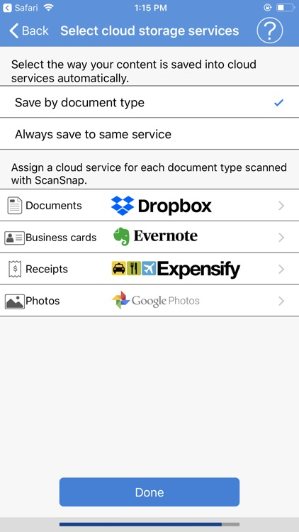 ScanSnap Cloud for Oceania