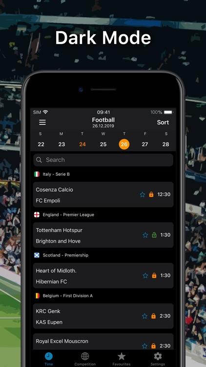 SportEventz - Live sport on TV screenshot-6