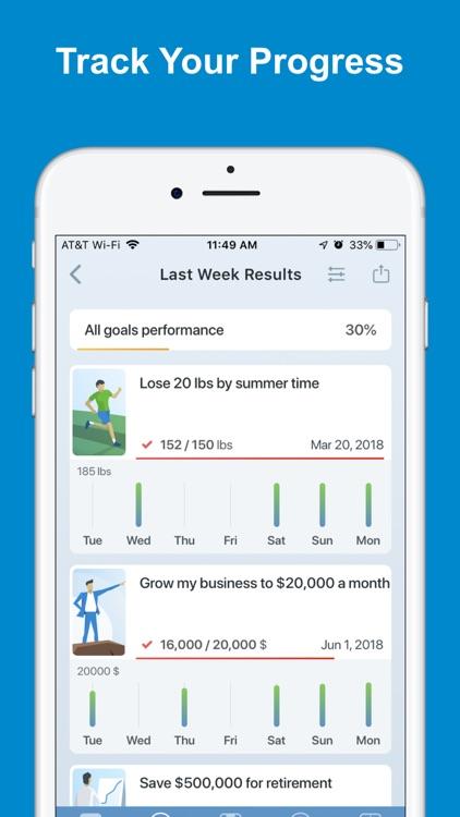 Success Coach - Goal Tracker screenshot-4