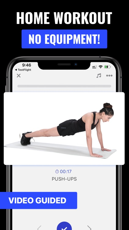 Push Up Workout & Trainer