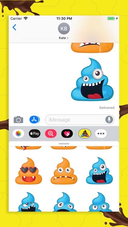 Monster Poopy Emoji