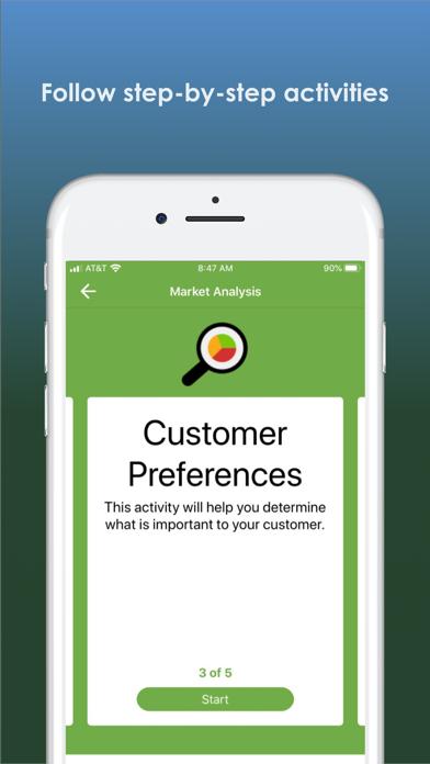 Centro Business Planning Tool screenshot
