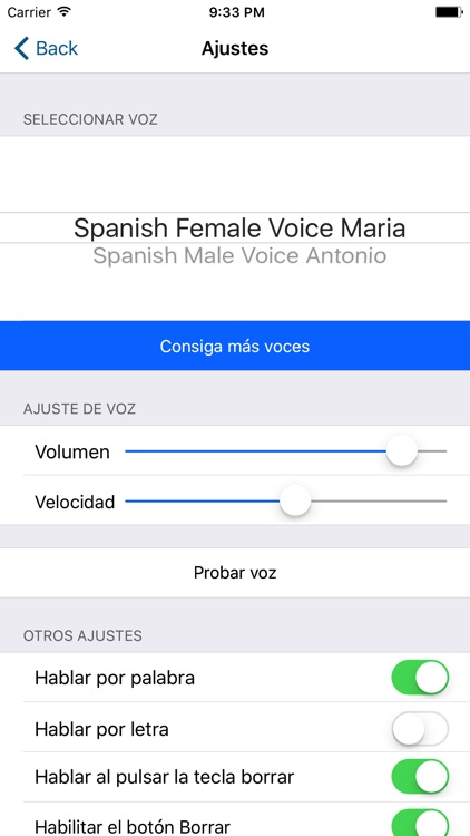 Assistive Express Spanish screenshot-3
