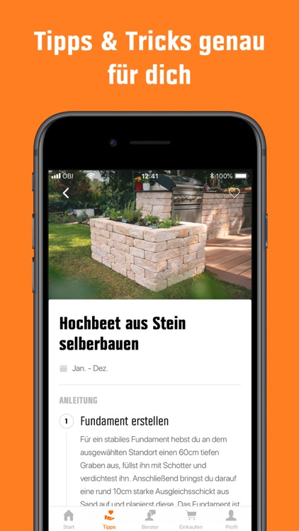 heyOBI: DIY-Projekte mit OBI screenshot-5