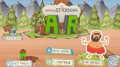Draw a Stickman: AR screenshot 1