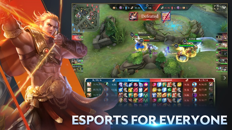 Arena of Valor:5v5 Battle screenshot-4