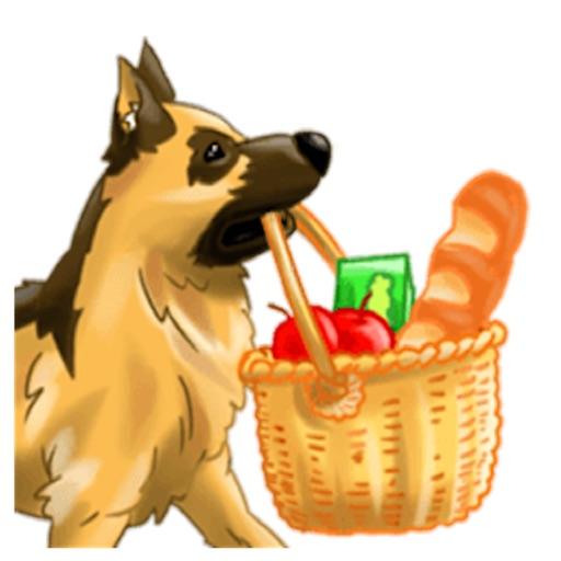 Smart German Shepherd Dog icon