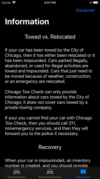 Chicago Tow Check