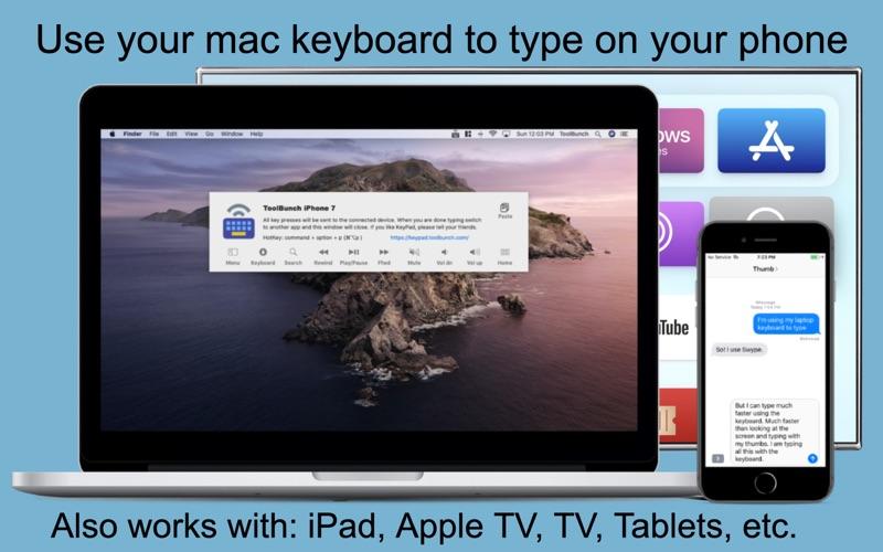 KeyPad - Keyboard and Mouse скриншот программы 2