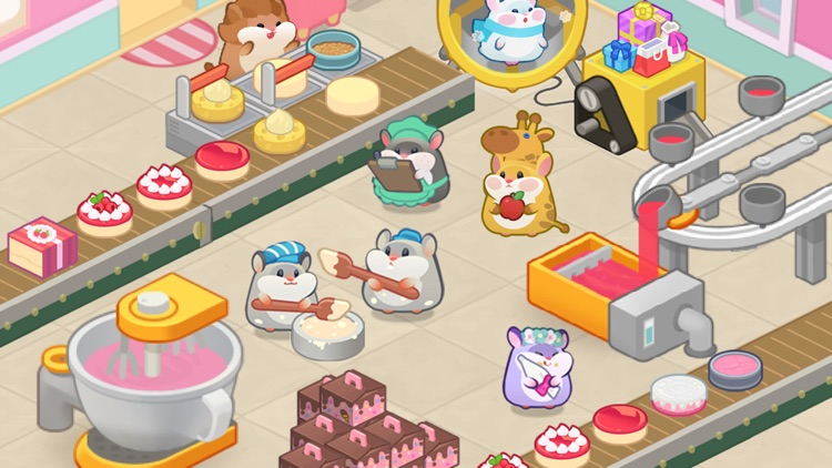Hamster Tycoon : Cake Maker screenshot-0