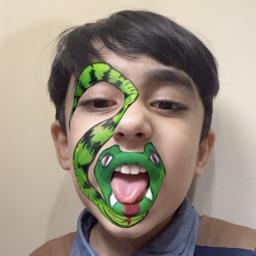 TalkMoji- Face Painting Camera