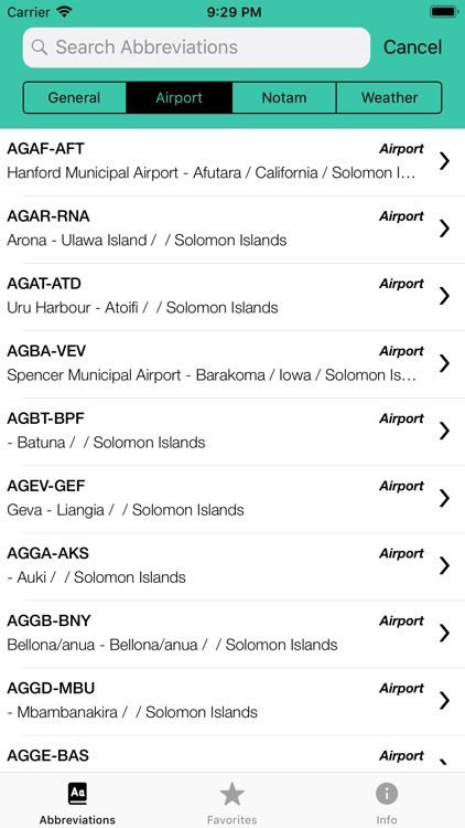Pilot Abbreviations & Acronyms screenshot-5