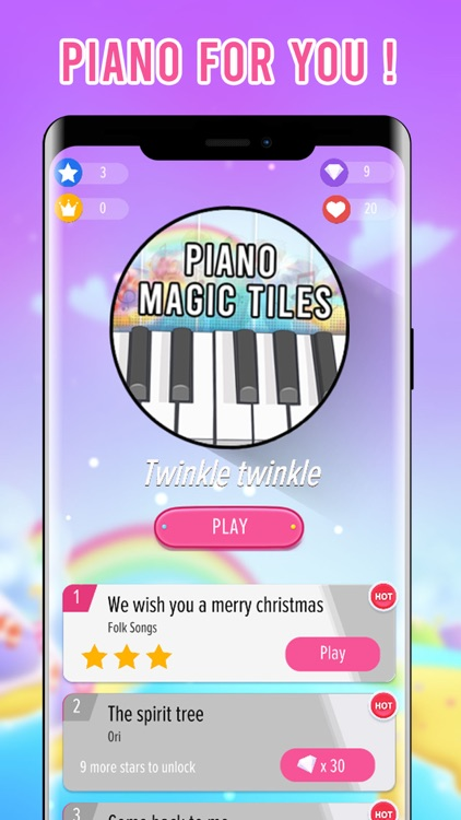 Piano Magic Tap Tiles