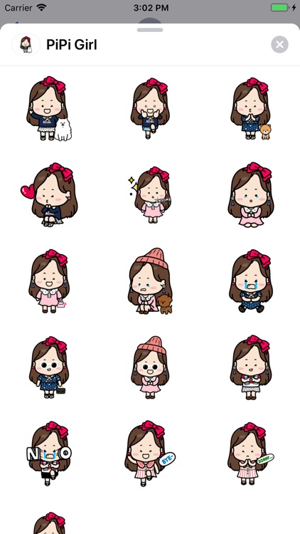iSticker PiPi Girl