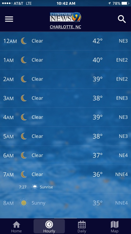 WSOC-TV Channel 9 Weather App
