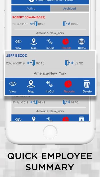 iTimePunch Plus Time Sheet App screenshot-4
