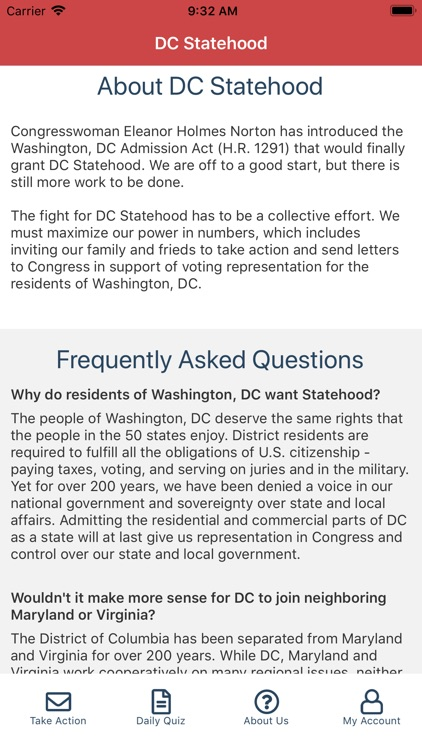 Statehood for Washington, DC screenshot-3