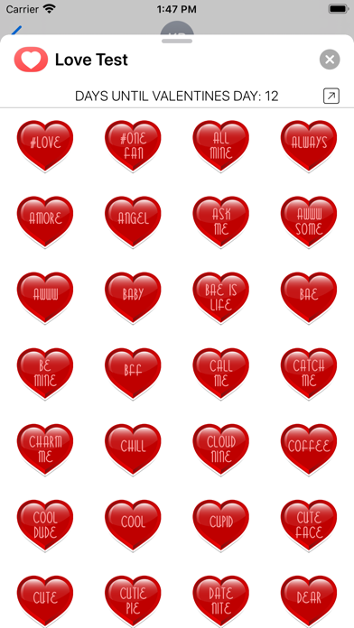 Love Test Compatibility Rating screenshot three