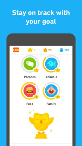 Duolingo screenshot for iPhone
