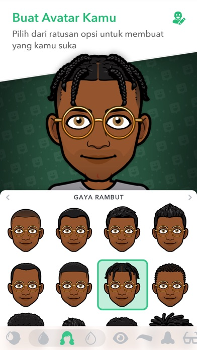 Screenshot for Bitmoji in Indonesia App Store