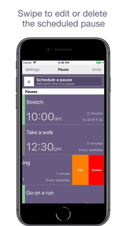 Pause - A Simple Reminder App