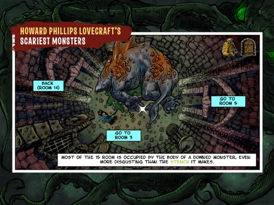 Lovecraft Quest - A Comix Game Screenshots
