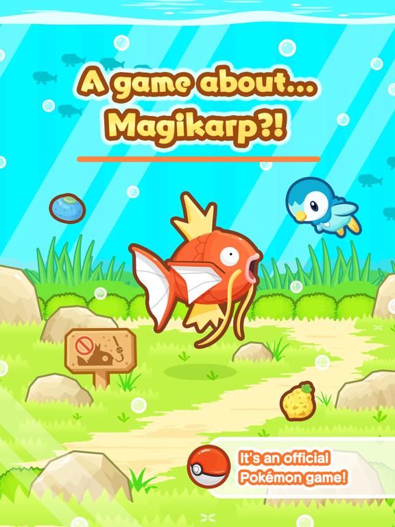 Pokémon: Magikarp Jump iPad app afbeelding 1