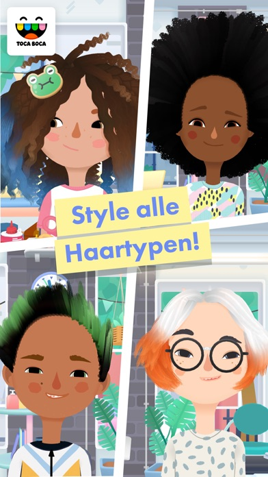 Screenshot for Toca Hair Salon 3 in Germany App Store