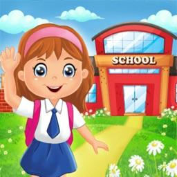 School Doll House Decoration