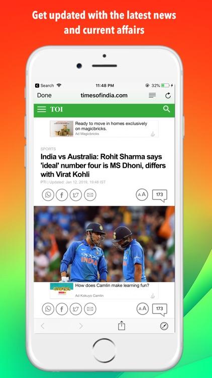 Today's News Headlines inshort screenshot-4