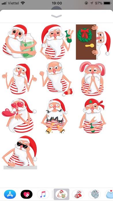 Christmas Santa Xmas Stickers screenshot 1