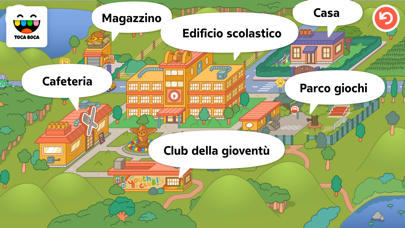Screenshot of Toca Life: School5