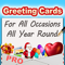 App Icon for Greeting Cards App - Pro App in New Zealand App Store